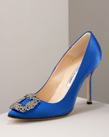"Carrie Bradshaw's Manolo Blahnik ""Something Blue"" shoes"