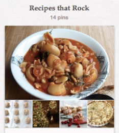 Recipes that Rock - Pinterest